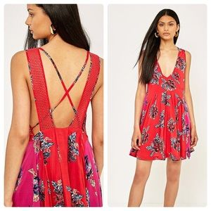 Free People I Thought I Was Dreamin' Floral Dress